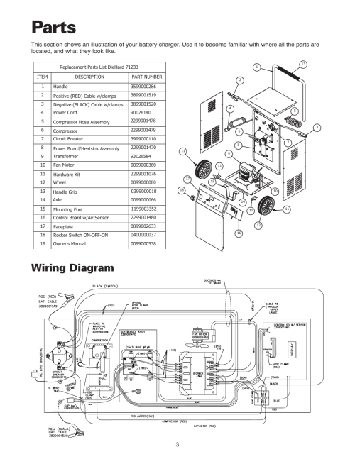 small resolution of wiring diagram for diehard battery charger circuit connection xp2260 schumacher battery charger wiring diagram parts wiring
