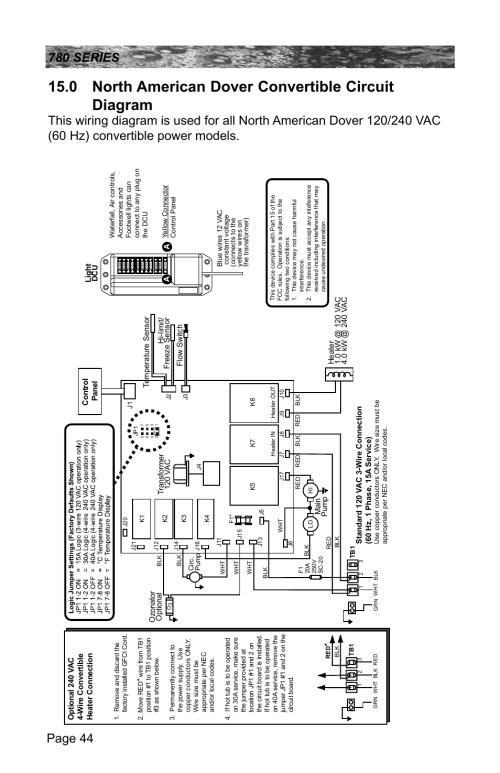 small resolution of 0 north american dover convertible circuit diagram sundance spas camden 780 user manual page 48 72