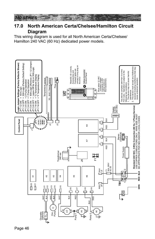 medium resolution of sundance spa wiring diagram wiring diagram centrej4 f1 sundance spas camden 780 user manual page 50