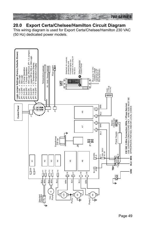 small resolution of 0 export certa chelsee hamilton circuit diagram sundance spas sundance optima spa wiring diagram 0 export