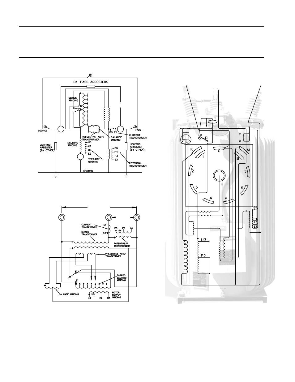 medium resolution of connection diagrams series transformer design siemens jfr distribution step voltage regulator 21 115532 001 user manual page 12 28