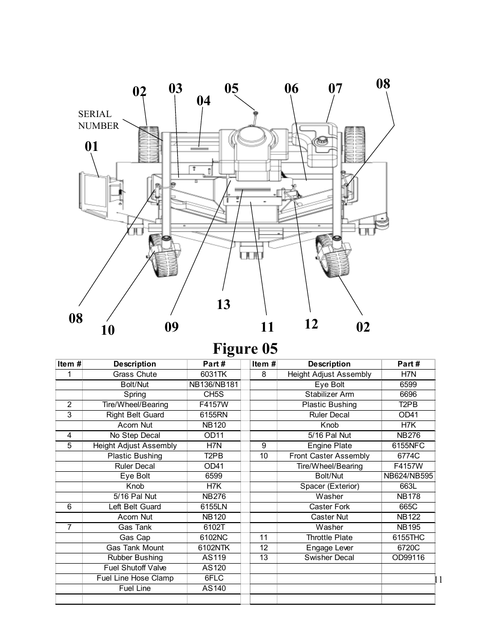 hight resolution of wiring diagram for swisher t1260