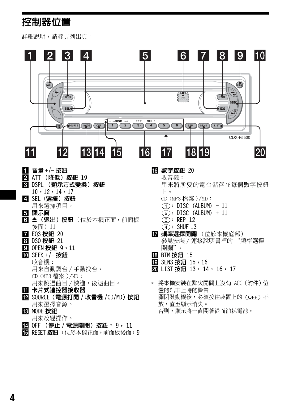 medium resolution of  4 sony cdx f5500 user manual page 60 84 sony cdx f5500 wiring diagram