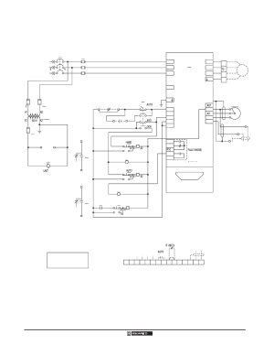 Wiring diagrams, Class 8998 motor control centers, Dgnd