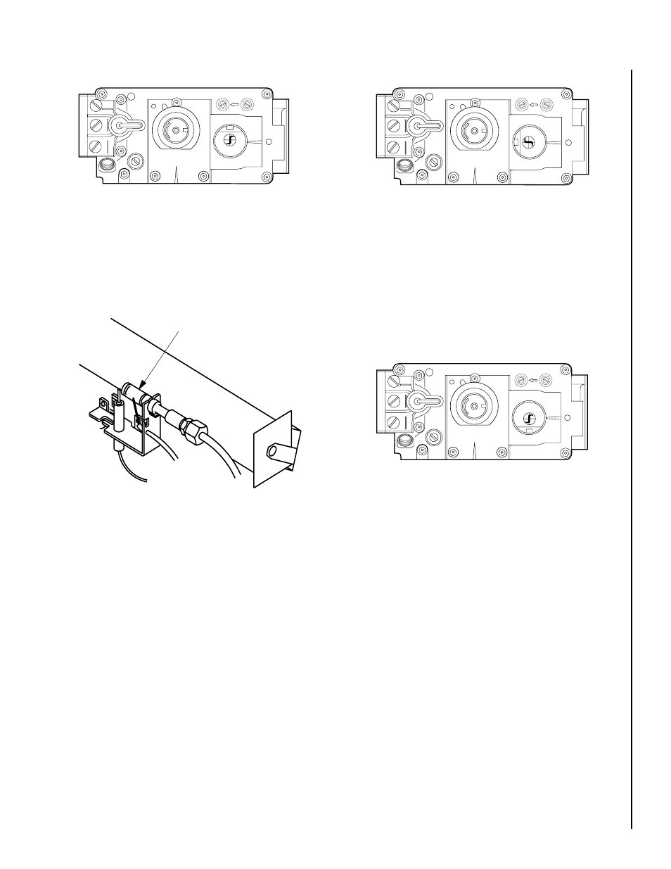"""Figure 22 turn control knob to """"on"""" position, Pilot"""