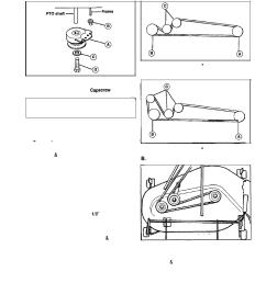 belt replacement tractor drne belt mower deck belt simplicity 1692969 user manual  [ 954 x 1229 Pixel ]