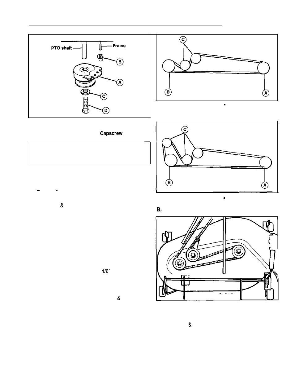 medium resolution of belt replacement tractor drne belt mower deck belt simplicity 1692969 user manual