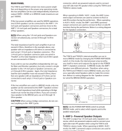 rear panel txm16 and txm20 input and output connections english samson txm16 user manual page 20 132 [ 954 x 1235 Pixel ]