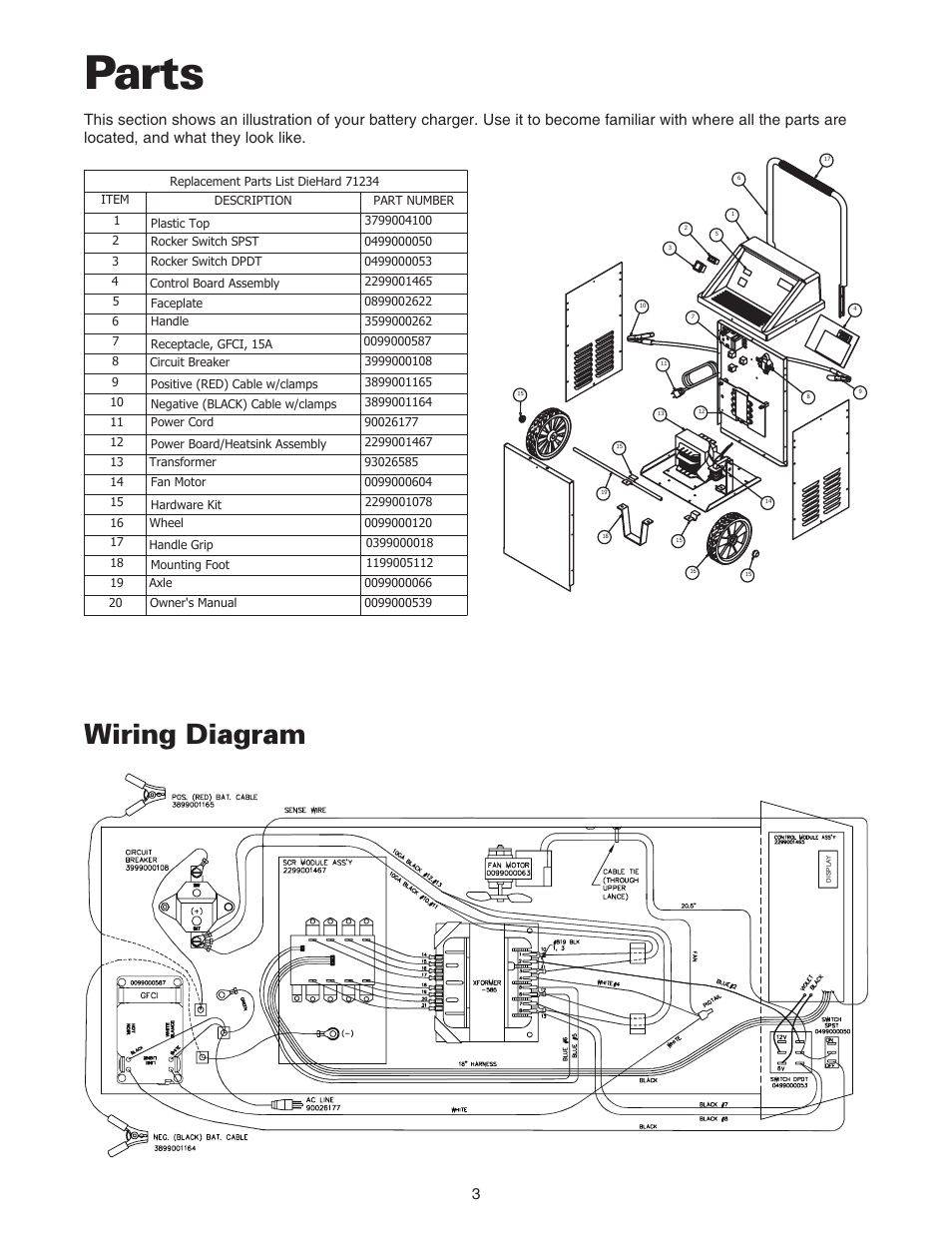 medium resolution of parts wiring diagram sears 200 71234 user manual page 4 15 rh manualsdir com