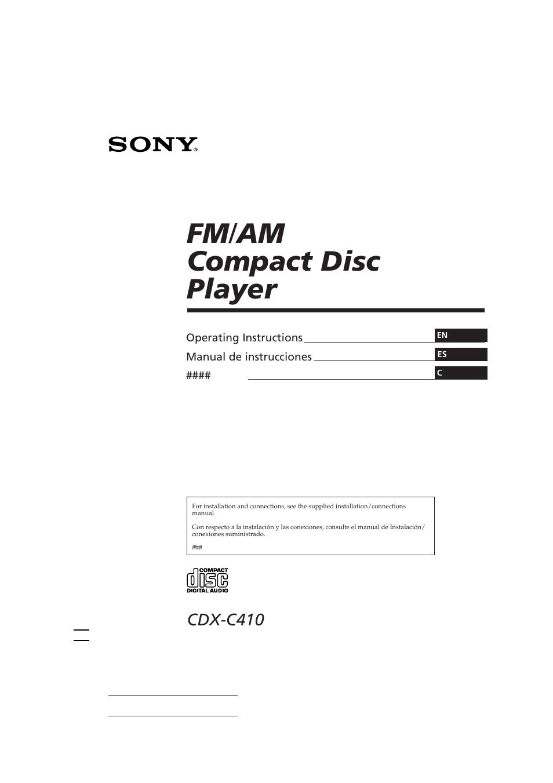 medium resolution of sony cdx c410 user manual 43 pagessony cdx c410 wiring diagram 9