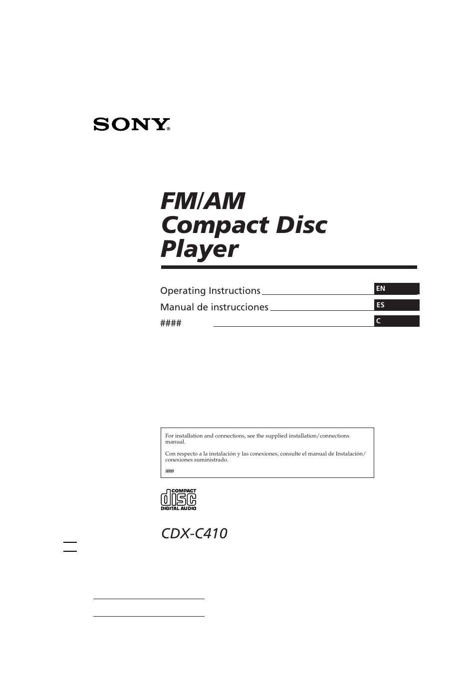 hight resolution of sony cdx c410 user manual 43 pagessony cdx c410 wiring diagram 9