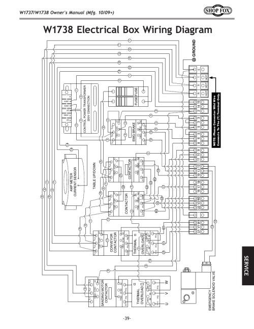 small resolution of w1738 electrical box wiring diagram se rv ic e ground woodstockw1738 electrical box wiring