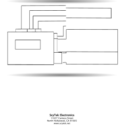 wiring diagram technical information control unit a10 scytek electronics a10 series user manual page 20 20 [ 954 x 1235 Pixel ]
