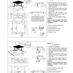 Smeg Induction Hob Wiring Diagram Ac For Car Instructions Assembly Gb Glass Ceramic Se2642id2 User Manual Page 15 17