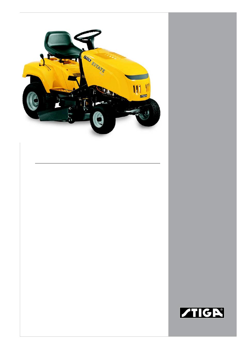 medium resolution of stiga estate basic 13 2570 13 user manual
