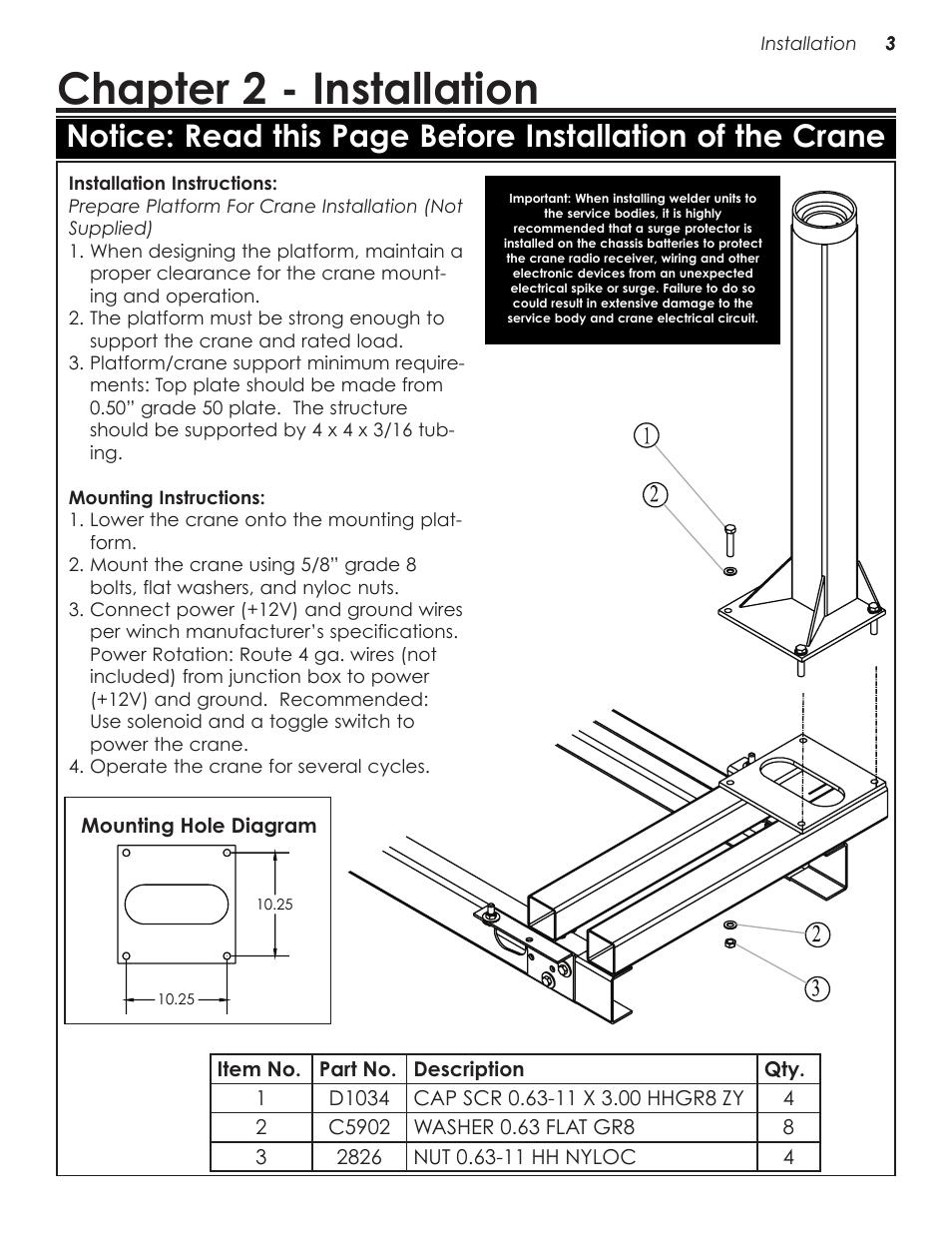 hight resolution of chapter 2 installation stellar industries telescopic crane ec2000 user manual page 7 22