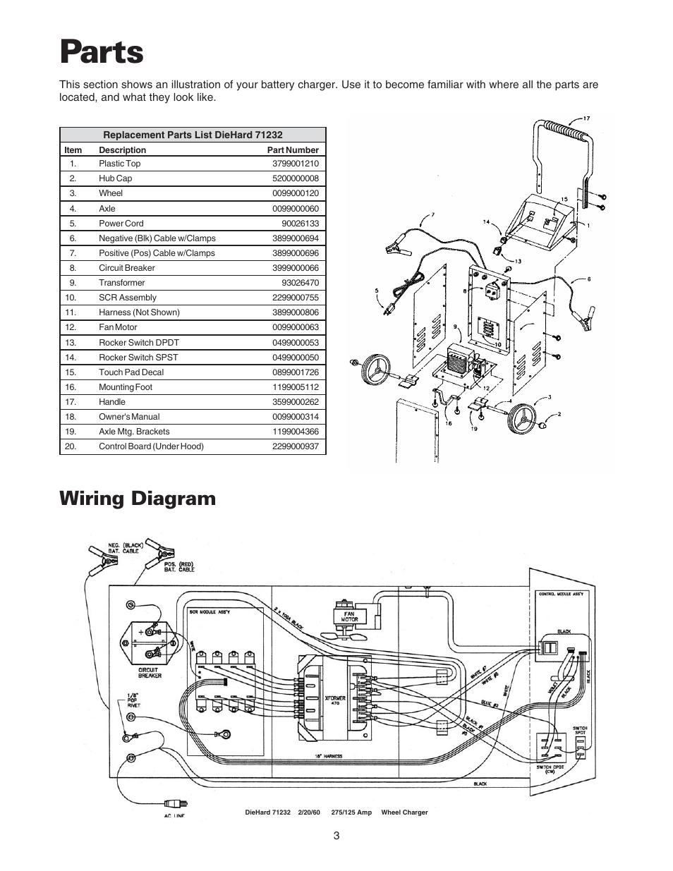 7 2 amp motor wiring diagram