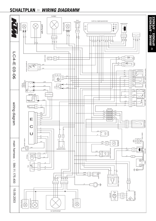 small resolution of 99 ktm wiring diagram