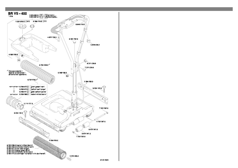 Karcher Br Vs 400 User Manual
