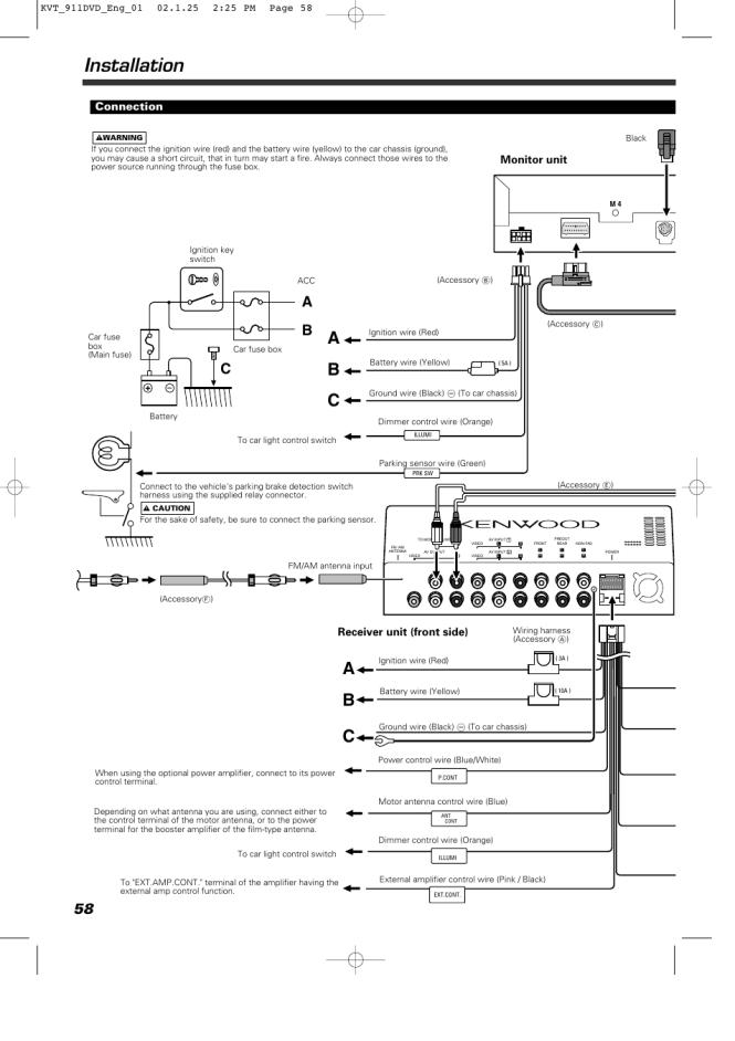 kenwood kvt 514 wiring diagram - wiring diagram, Wiring diagram