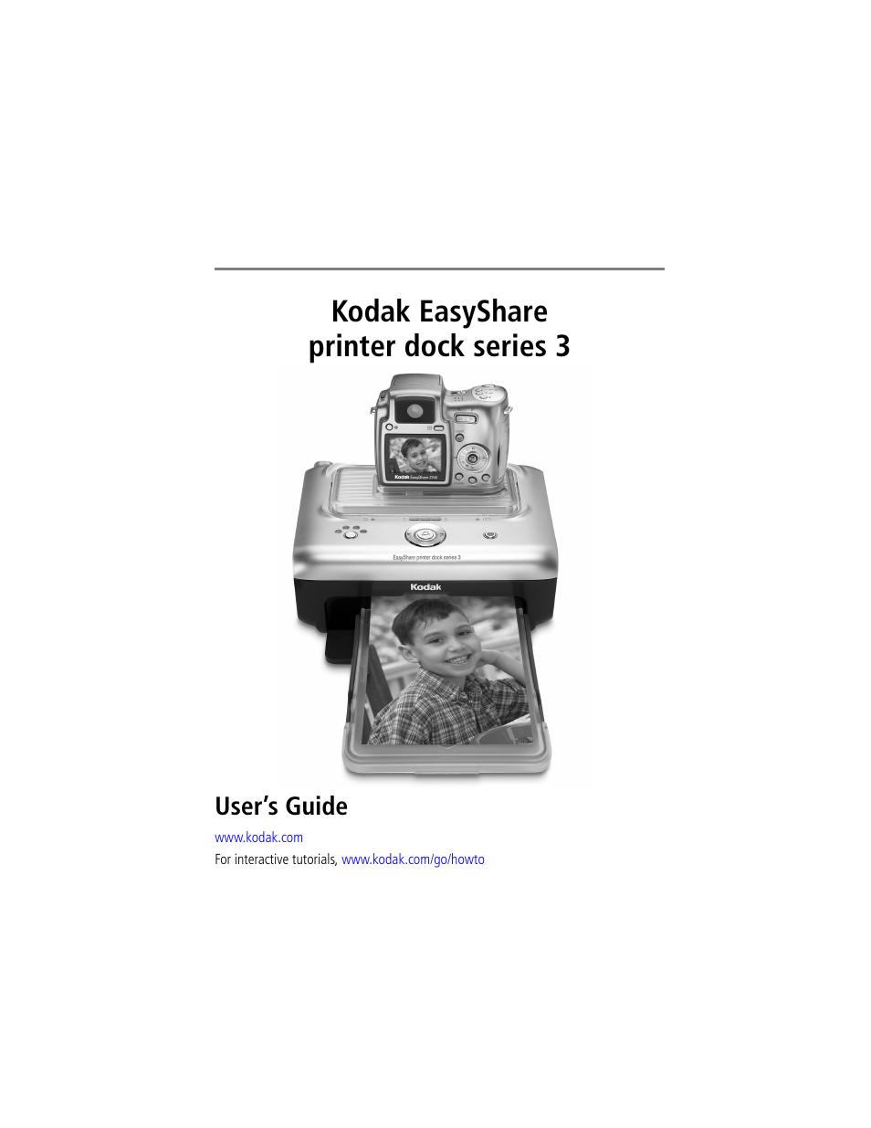Easyshare Printer Dock Series 3 Color Cartridge : My kodak