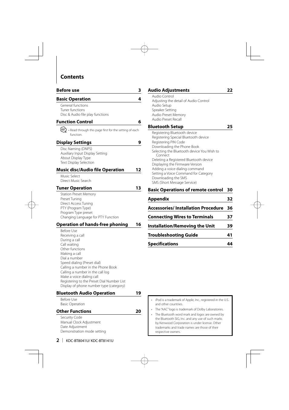 heelal credit verzonden kenwood kdc bt8041u manual