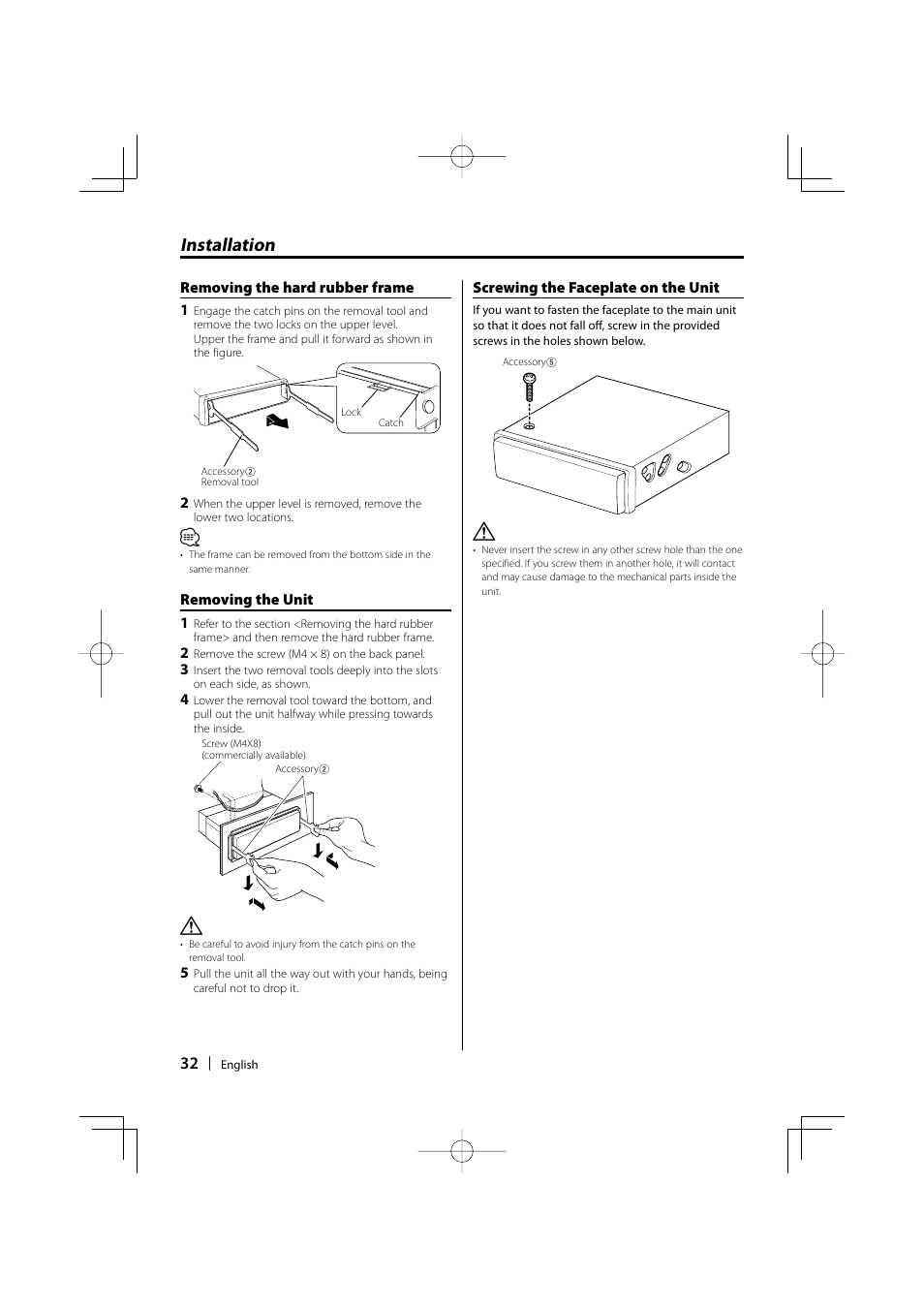 medium resolution of installation kenwood kdc mp435u user manual page 32 108