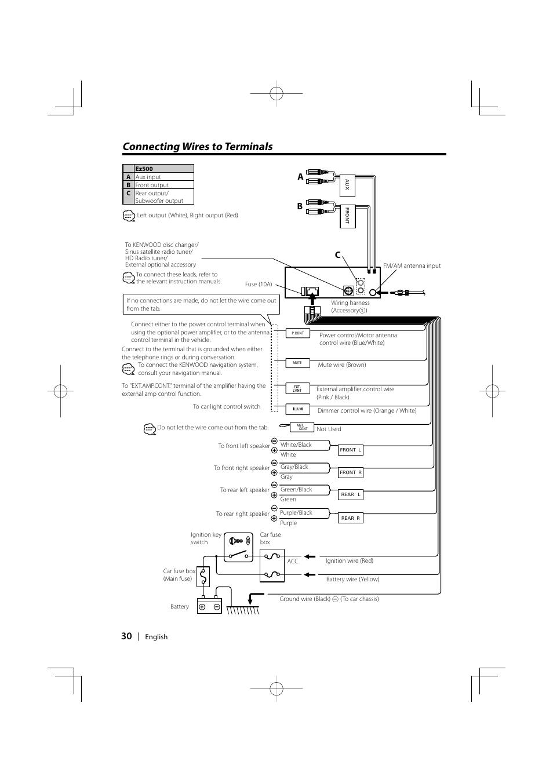 Kenwood Kdc Bt350U Wiring Diagram : Kenwood Kdc Bt565u