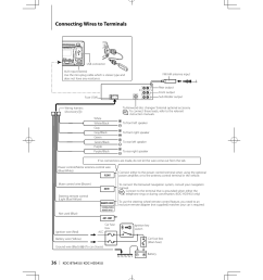 connecting wires to terminals kenwood kdc hd545u user manual kenwood kdc 138 wiring harness diagram kenwood kdc wiring harness diagram [ 955 x 1350 Pixel ]