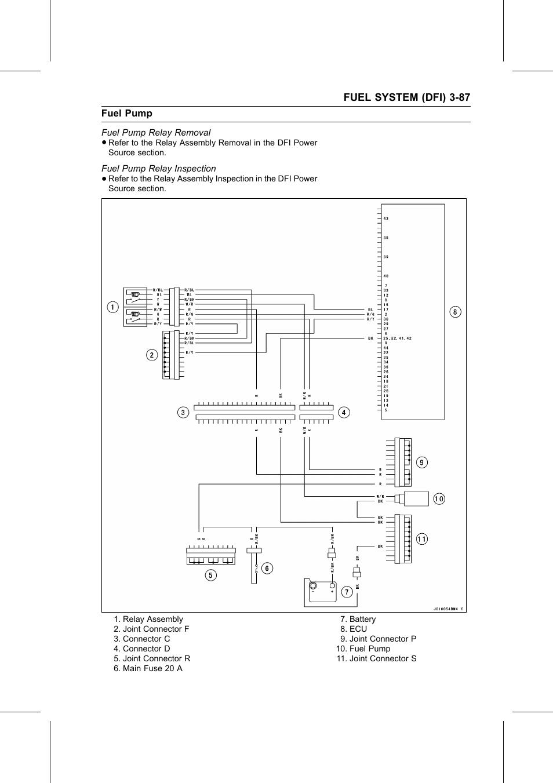 Fuel pump relay removal fuel pump relay inspection kawasaki stx rh manualsdir electric fuel pump wiring diagram fuel pump wiring 96 achieva