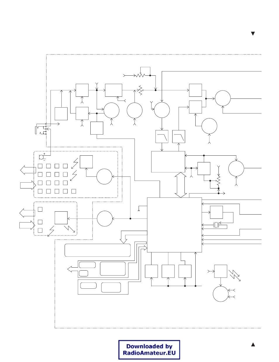 medium resolution of block diagram th k2at k2e k2et kenwood 144mhz fm transceiver k2e user manual page 59 63