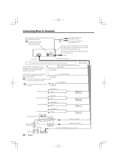 small resolution of kenwood kdc mp205 wiring diagram wiring diagram kdc mp235 wiring diagram