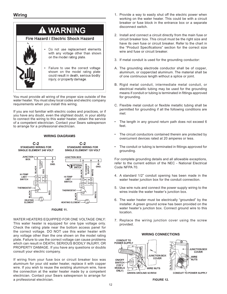 medium resolution of wiring kenmore the economizer tm 6 compact electric 153 31604 user manual page 12 24