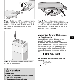 working with detergents caution karcher k 370 m user manual page 7 12 [ 954 x 1475 Pixel ]