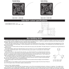 Ohm Load Wiring Diagram Badland 2500 Winch Wiring, Solo-baric Cutout Specifications | Kicker S12l7 User Manual Page 2 / 8