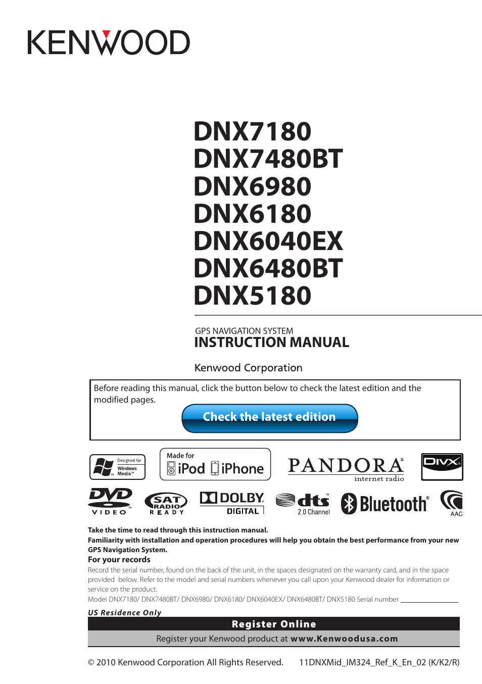 medium resolution of kenwood dnx6980 user manual 111 pages kenwood dnx6980 wiring diagram