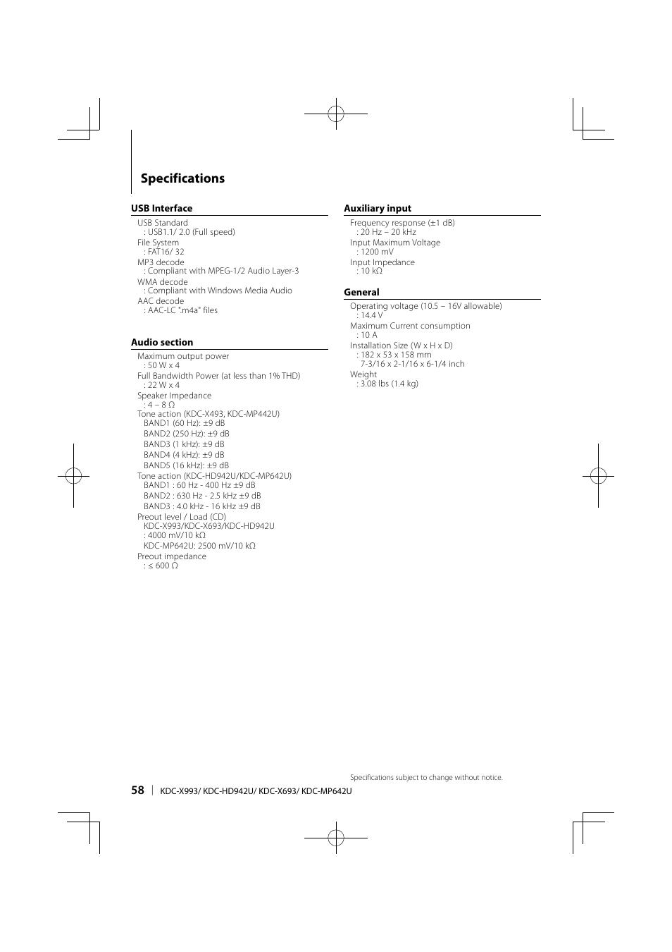 hight resolution of kenwood kdc mp642u stereo wiring diagram