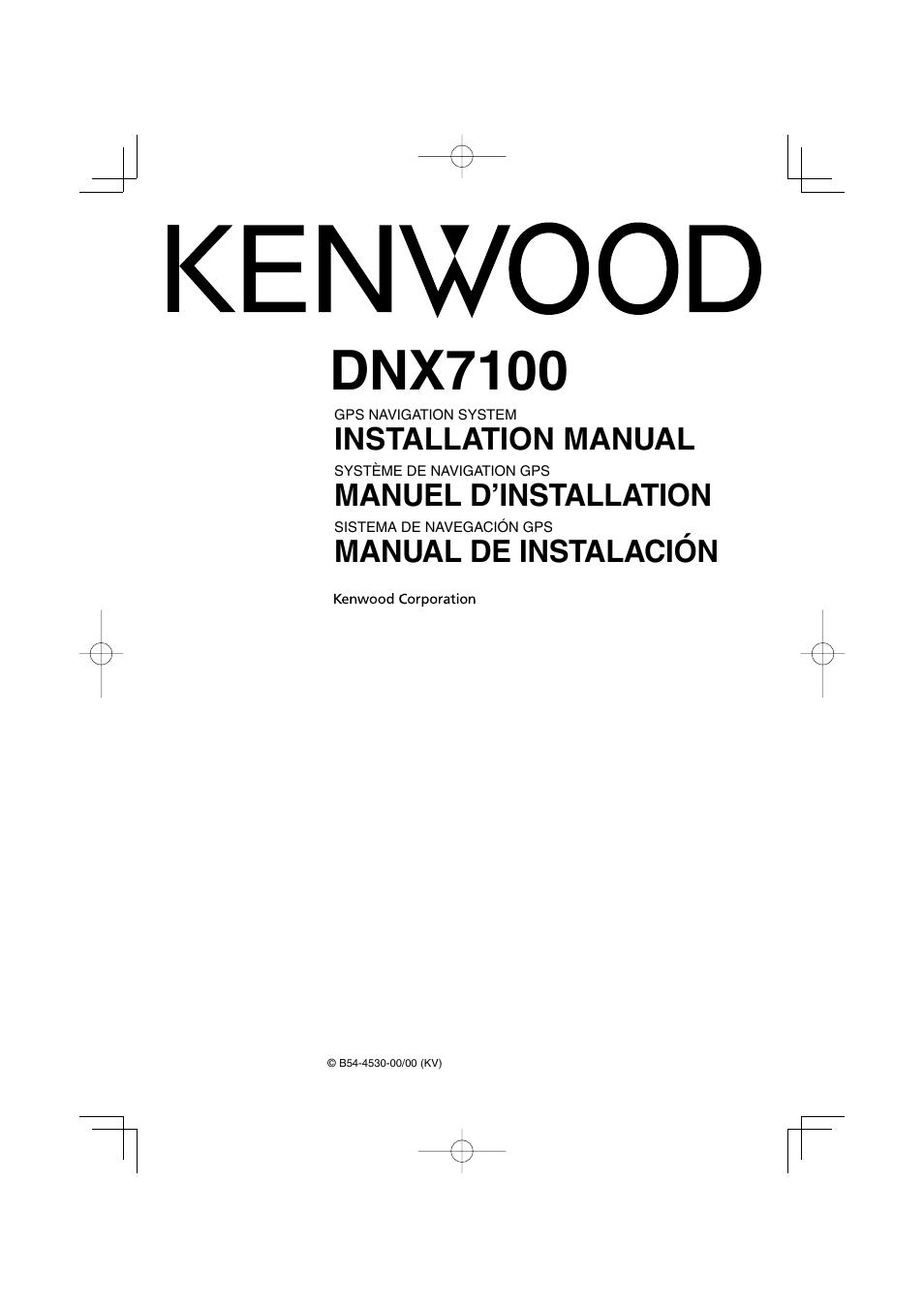 Dnx7100 Wiring Diagram Sauna Wiring Schematics