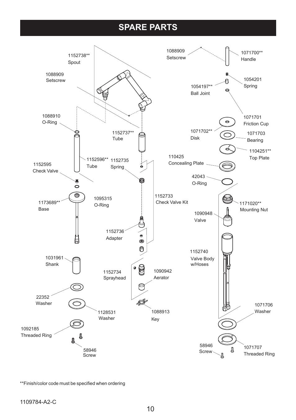 kohler karbon kitchen sink tap k 6227a