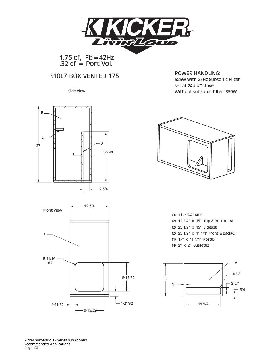 hight resolution of kicker l7 15 wiring diagram