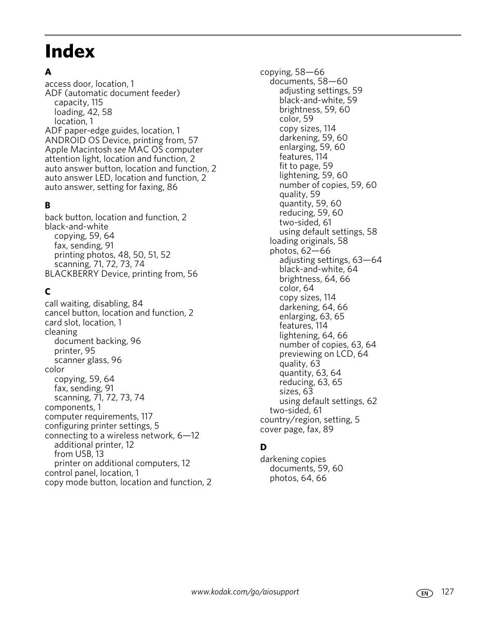 Kodak Com Go Esp2150 Manuals