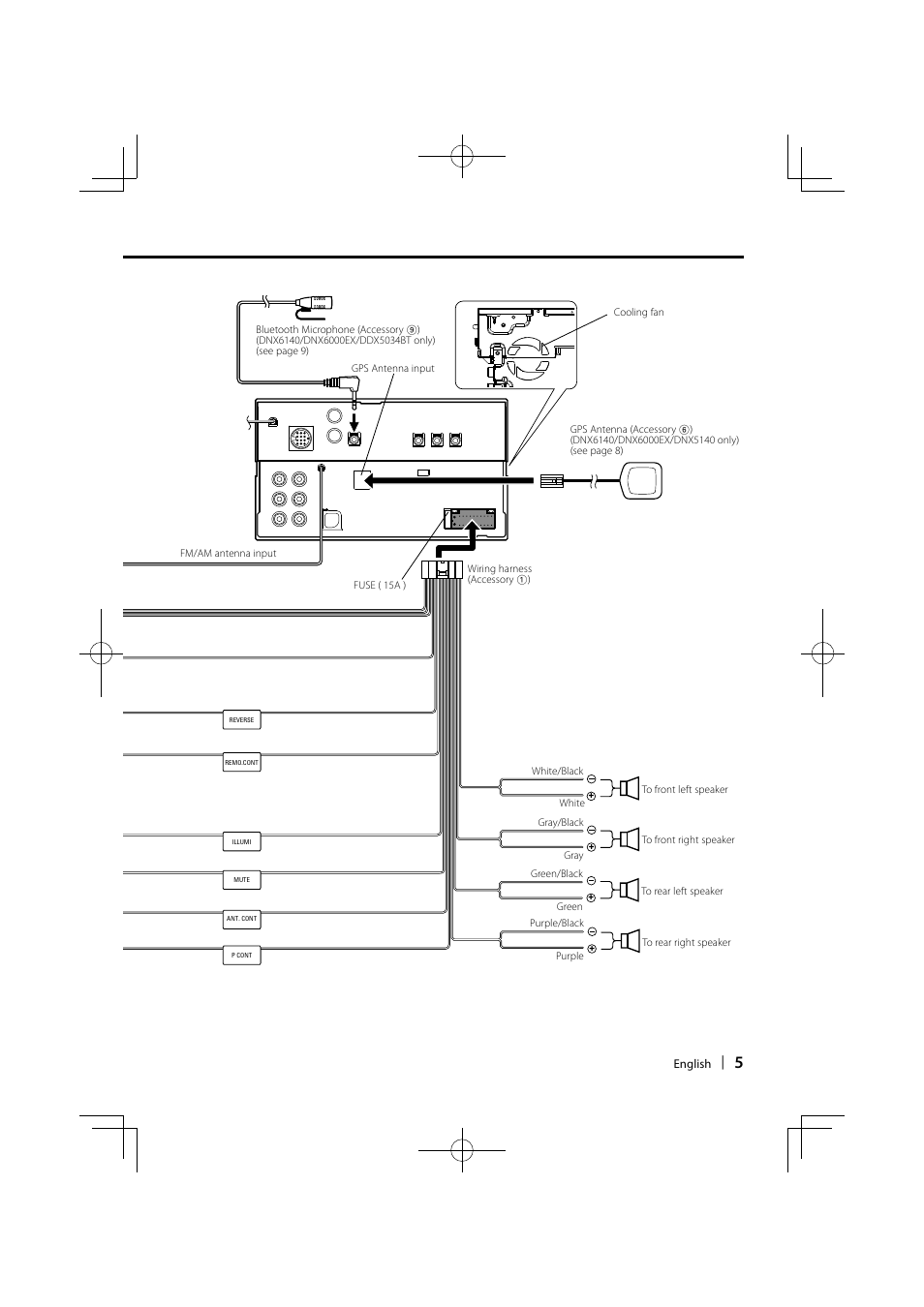 kenwood ddx7015 wiring diagram kenwood amp wiring diagram  kenwood dnx6140 wiring diagram #7