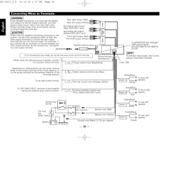 Kenwood Kdc Mp242 Wiring Diagram 2 1999 Ford F150 Starter Solenoid Connecting Wires To Terminals English 36