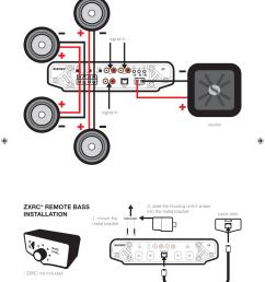 wiring diagram 5 channel 13 kicker wiring libraryzxrc remote bass installation four channel operation [ 955 x 1425 Pixel ]