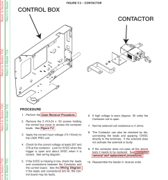 contactor control box troubleshooting repair contactor test continued lincoln electric ln 25 svm179 b user manual page 58 103 [ 954 x 1235 Pixel ]