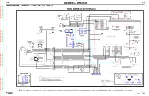 Electrical diagrams, Wiring diagram ln25 pro analog, Ln