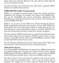 nmea dgps cable connections lowrance electronic globalmap 5000c user manual page 19 128 [ 954 x 1487 Pixel ]