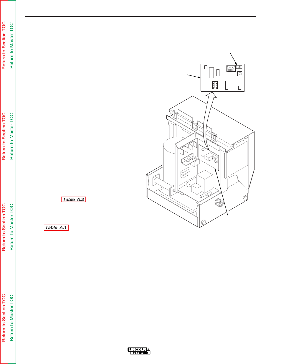 hight resolution of ln 8s and ln 8se and converted ln 8n and ln 8ne installation lincoln electric ln 8 svm132 a user manual page 10 99