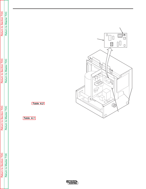 small resolution of ln 8s and ln 8se and converted ln 8n and ln 8ne installation lincoln electric ln 8 svm132 a user manual page 10 99