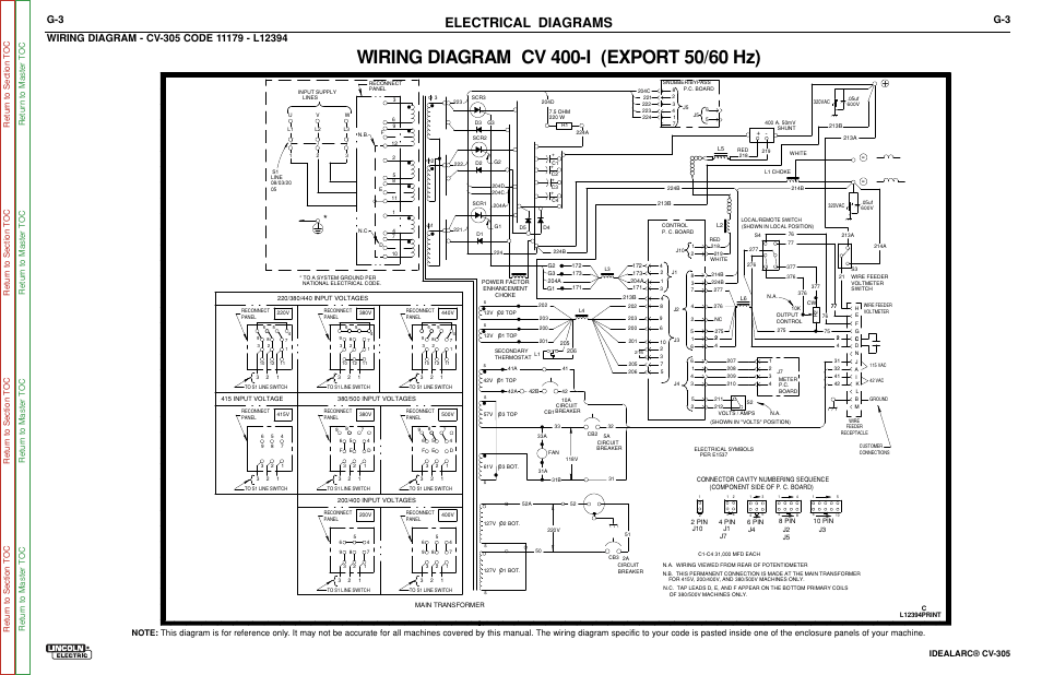 Lincoln Vantage 300 Wiring Diagram Lincoln Lincwelder 225